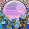 The Art Nouveau Bleu Ketubah