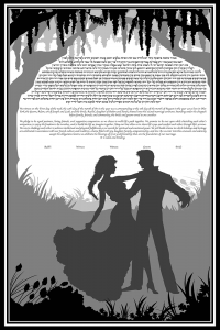our-silhouette-ketubah